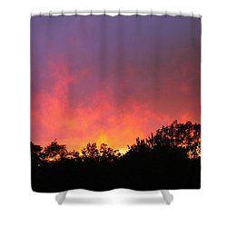 Crepuscule Shower Curtain by Bruce Patrick Smith