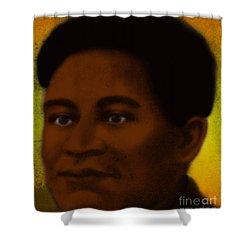 Crispus Attucks, African-american War Shower Curtain by Photo Researchers