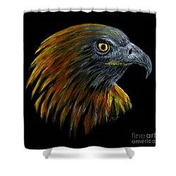Crowhawk Shower Curtain by Peter Piatt