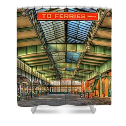 Crrnj Terminal I Shower Curtain by Clarence Holmes