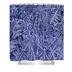 Crystal 2 Shower Curtain by Sabine Jacobs
