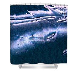 Crystalline Entity Panel 1 Shower Curtain by Peter Piatt
