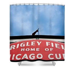 Cubs Sign Shower Curtain