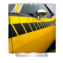 Cuda Stripes Shower Curtain
