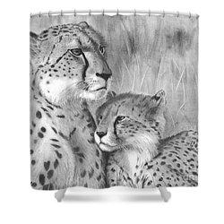 Cuddle Shower Curtain