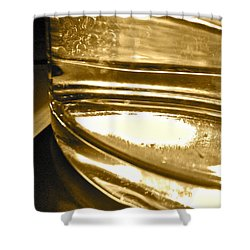 Shower Curtain featuring the photograph cup IV by Bill Owen
