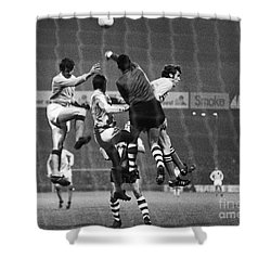 Cup Winners Cup, 1969 Shower Curtain by Granger