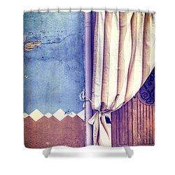 Curtain Shower Curtain by Joana Kruse