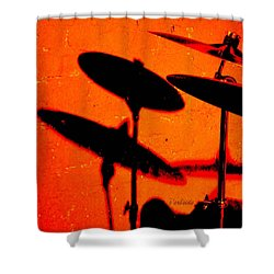 Cymbalic Shower Curtain
