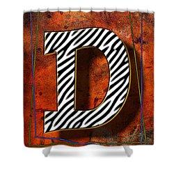 D Shower Curtain by Mauro Celotti