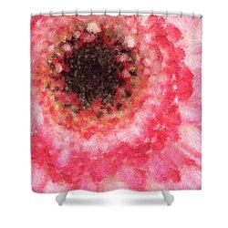 Daisy Love Shower Curtain by Heidi Smith