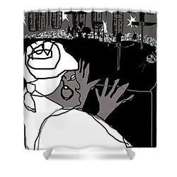 Damballah Shower Curtain