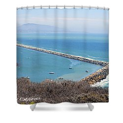Shower Curtain featuring the photograph Dana Point California 9-1-12 by Clayton Bruster