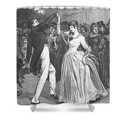Dance, 19th Century Shower Curtain by Granger