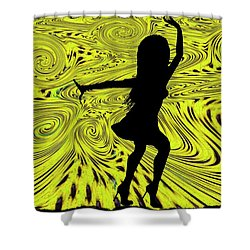 Dance Shower Curtain by Bill Cannon