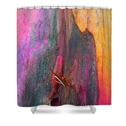 Shower Curtain featuring the digital art Dance For The Earth by Richard Laeton