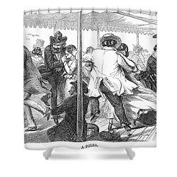 Dance: Polka, 1858 Shower Curtain by Granger