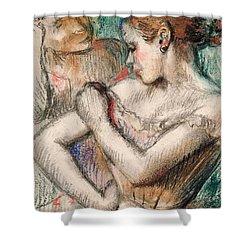 Dancer Shower Curtain by Edgar Degas