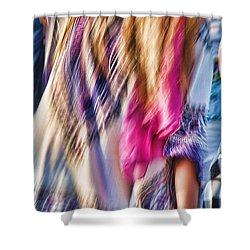 Dancing Hippie Shower Curtain