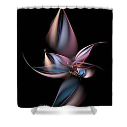 Dancing Pastels Shower Curtain