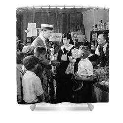 Dangerous Talent, 1920 Shower Curtain by Granger