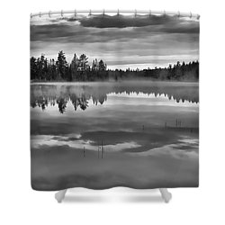 Dark Tranquility Shower Curtain