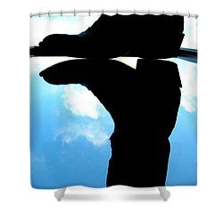 Das Boot Shower Curtain