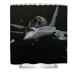 Dassault Rafale Shower Curtain