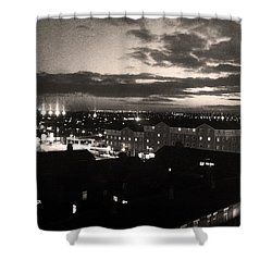 Dawn At Manchester Shower Curtain