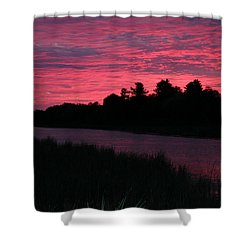 Dawn Glory Shower Curtain by Richard De Wolfe