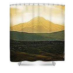 Daybreak Shower Curtain by Andrew Paranavitana
