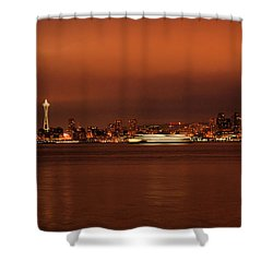 Daybreak Ferry Shower Curtain