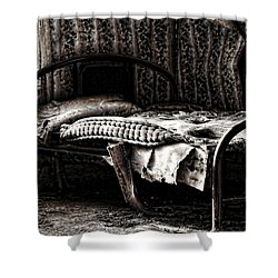 Dead Sleep Shower Curtain by Empty Wall