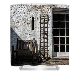 Decay Shower Curtain by Semmick Photo