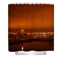 December Daybreak Shower Curtain