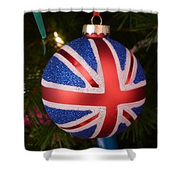 Shower Curtain featuring the photograph Decorate The Union by Richard Reeve
