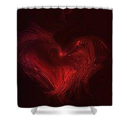 Deep Hearted Shower Curtain