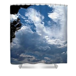 Deep Skies Shower Curtain by Glenn McCarthy Art and Photography