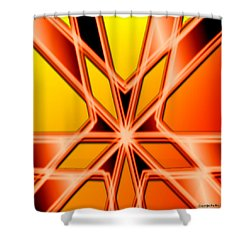 Shower Curtain featuring the digital art Deep Thought by George Pedro