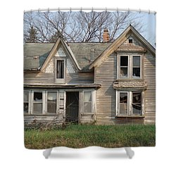 Shower Curtain featuring the photograph Defiance by Bonfire Photography
