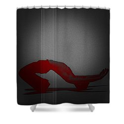 Defiance Shower Curtain by Naxart Studio