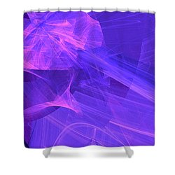 Shower Curtain featuring the digital art Definhareis by Jeff Iverson