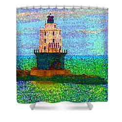 Shower Curtain featuring the photograph Delight House by Clara Sue Beym