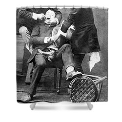 Dentistry Tooth Extraction 1892 Shower Curtain by Science Source