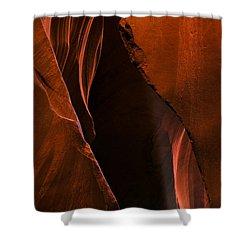 Desert Beam Shower Curtain by Mike  Dawson