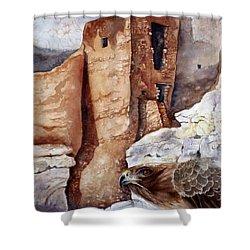 Desert Dwellers Shower Curtain
