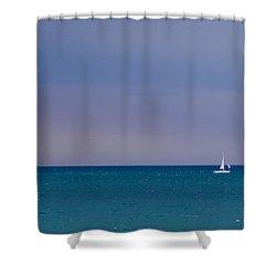 Desiderata Shower Curtain by Julia Wilcox