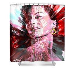 Desiree Shower Curtain by Seth Weaver
