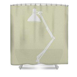 Desk Lamp Shower Curtain by Naxart Studio