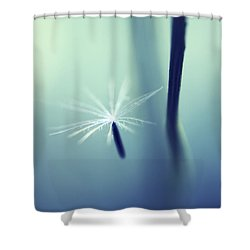 Detachement Shower Curtain by Aimelle